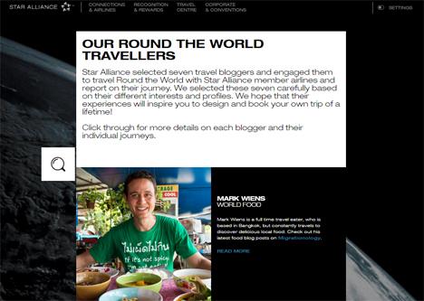 ANAの加盟するスターアライアンスは、世界一周航空券に新プランを追加、ブロガーのフォローも!