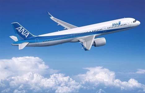 ANAは、ANA初のエアバスA321-200「JA111A」を受領、羽田空港に到着!