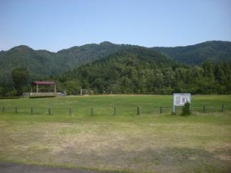 中山公園頂上の芝生広場