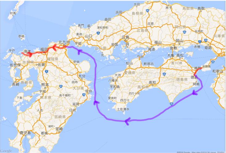 20160501 徳島から北九州 玄海原発