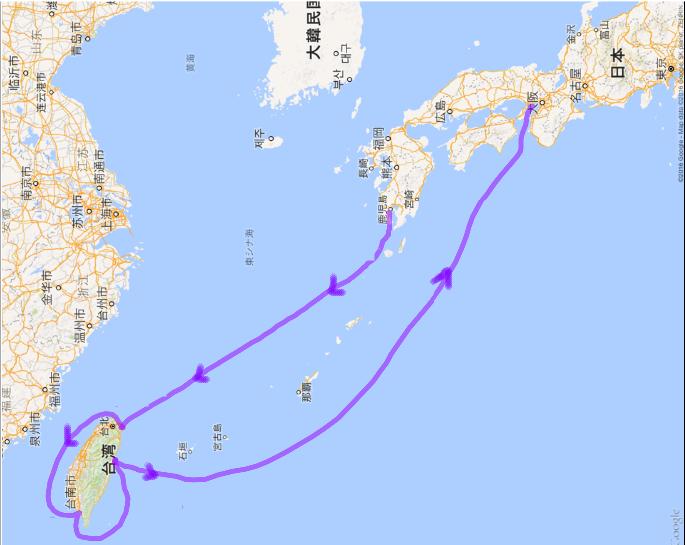 20160508 神戸から鹿児島