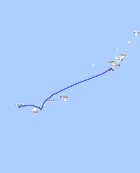 201604 飛行機 石垣島 与那国島