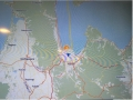 青森港入港地図