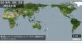 3日地震④の地図