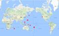 海外の地震