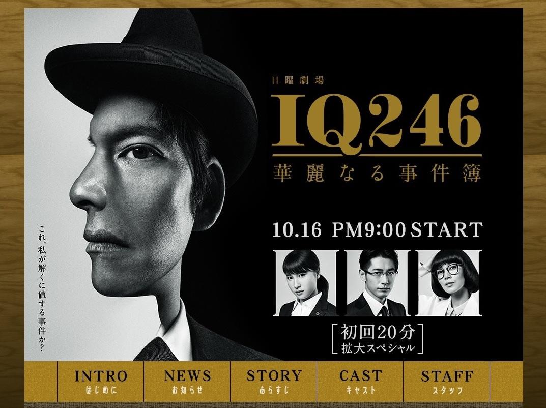 杏子(新川優愛)『IQ246〜華麗なる事件簿〜』