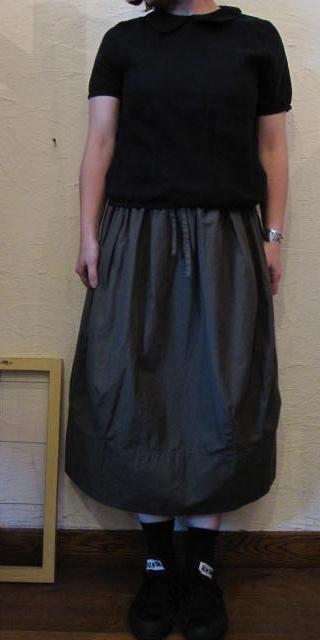 ティグル丸衿ブラック