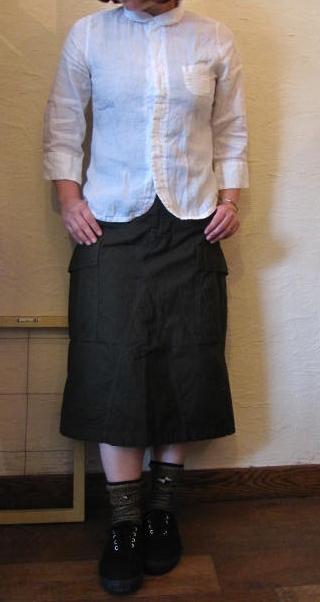 ティグルカーゴスカート