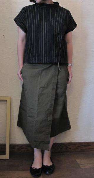 ユニバーサルラップスカート