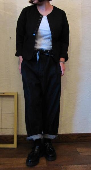 gauze ジャケット黒