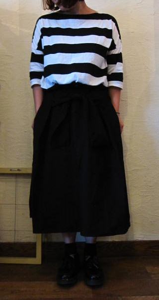 gauze リボンスカート