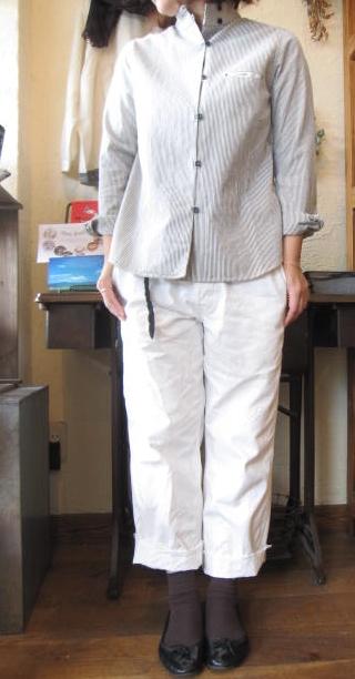 ティグルSTRIPEシャツ