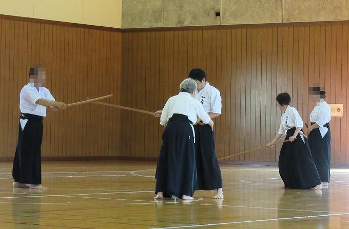 近県薙刀錬成会 28.6.18 愛媛から