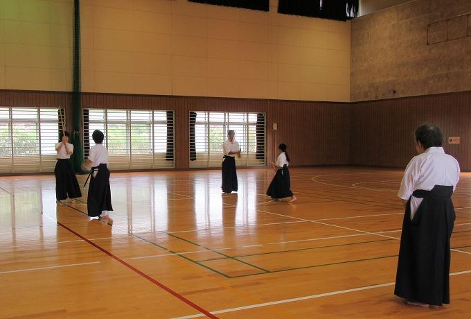 薙刀近県錬成会 講師→会長 28.6.19
