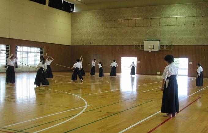 薙刀錬成会2日目 H28.6.19
