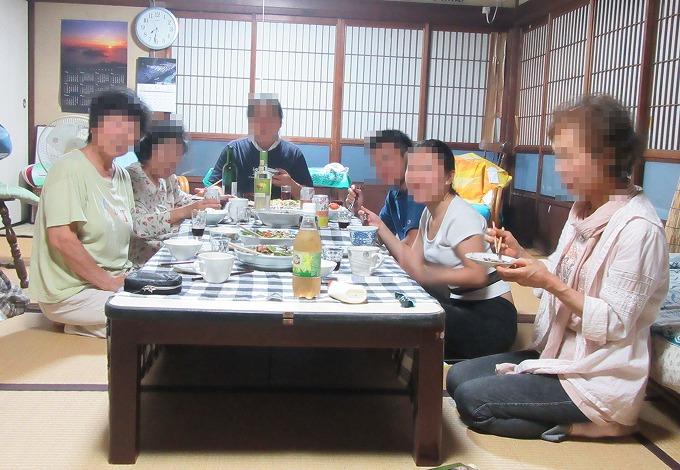 みんなで夕食(中国・ニュージーランド) 28.6.23