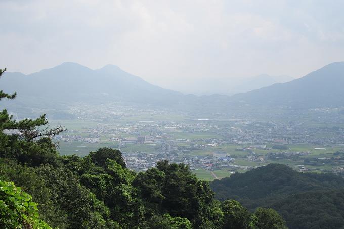 志保山の展望台から 28.7.29