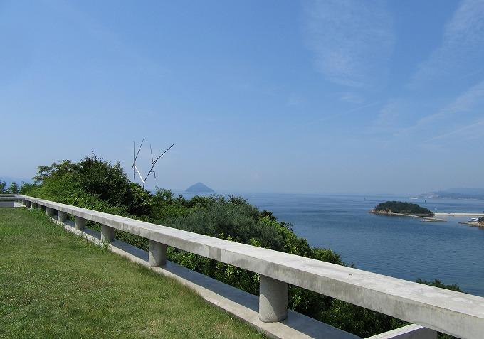 直島 風で 28.7.31