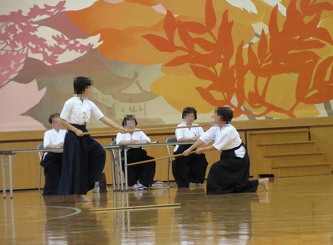 薙刀審査会 4日午後 28.9.4