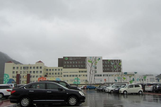 台風16号の日の病院 28.9.20