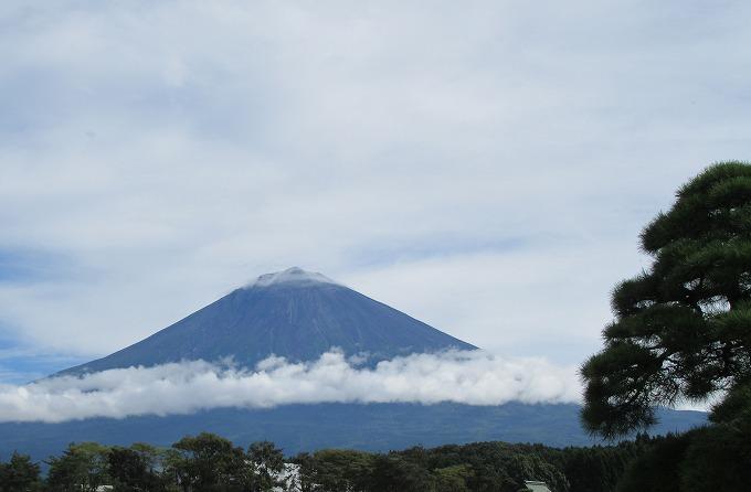 富士参り晴天 富士山 28.9.25