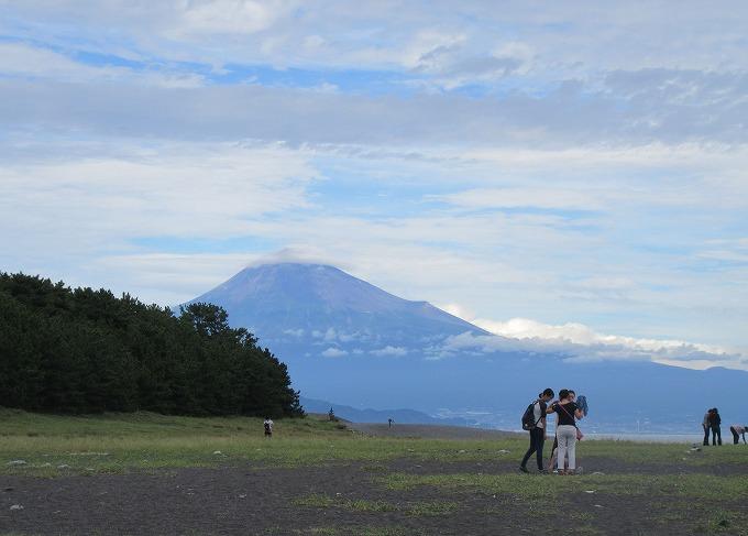 美穂の松原から富士 28.9.26