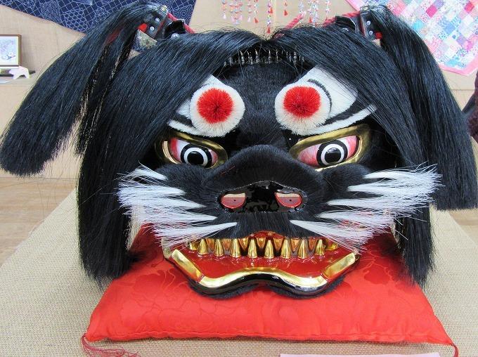 獅子頭 大見地区文化祭 28.11.13