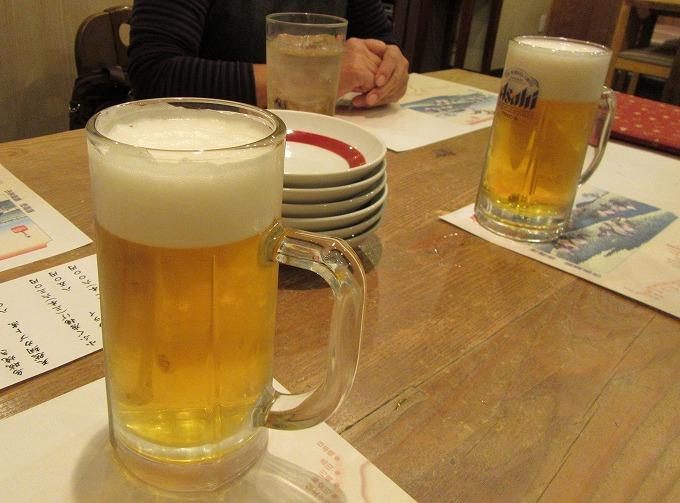 そりゃあ、生ビールやろ~! 28.11.26