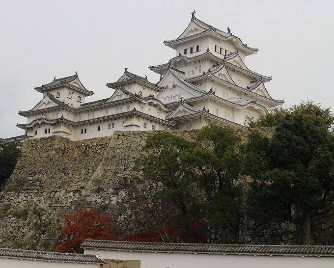 姫路城大きく 28.12.1