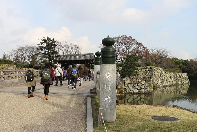 姫路城入り口 28.12.1