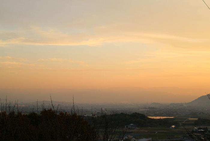 爺神山から 西南方向 28.12.3