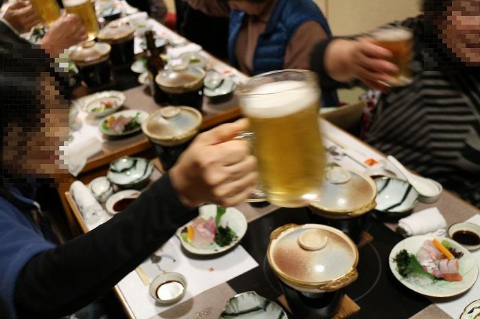 乾杯 忘年会 28.12.12
