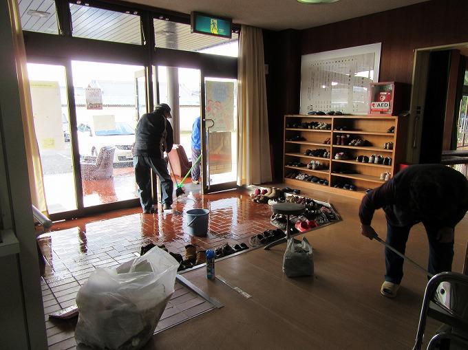 吉津公民館掃除 28.12.5