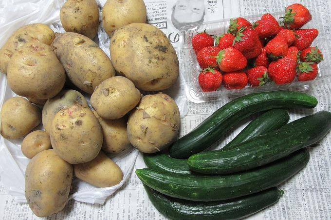 野菜もいっぱい 28.5.27