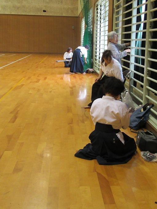 近県薙刀錬成会終わって 28.5.29