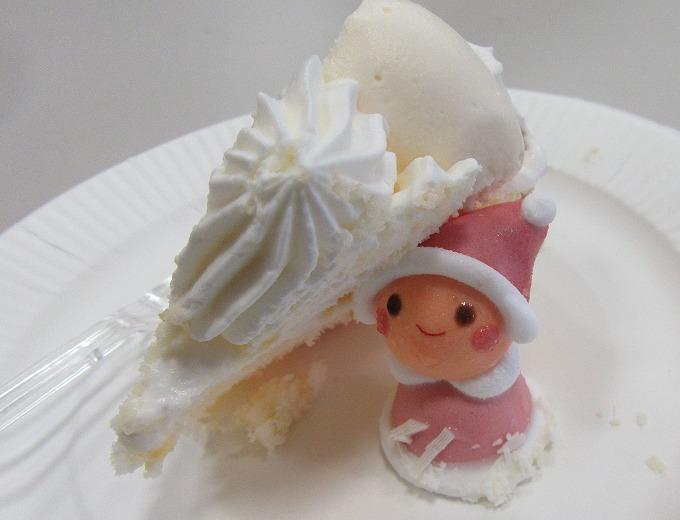 可愛い桃色サンタさんケーキ 28.11.8