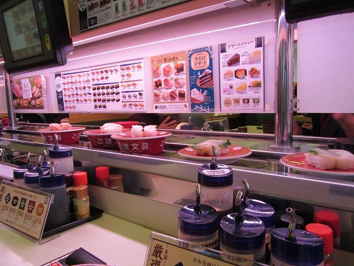くるくる寿司 浜寿司やったかな 28.12.13