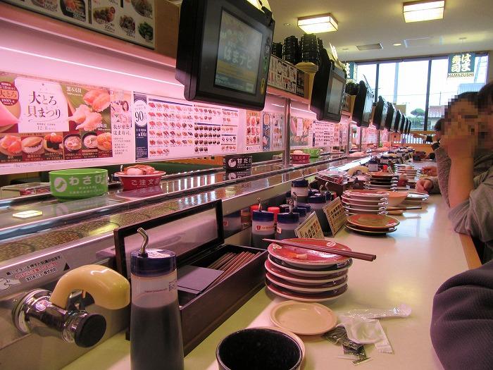 くるくる寿司 28.12.13