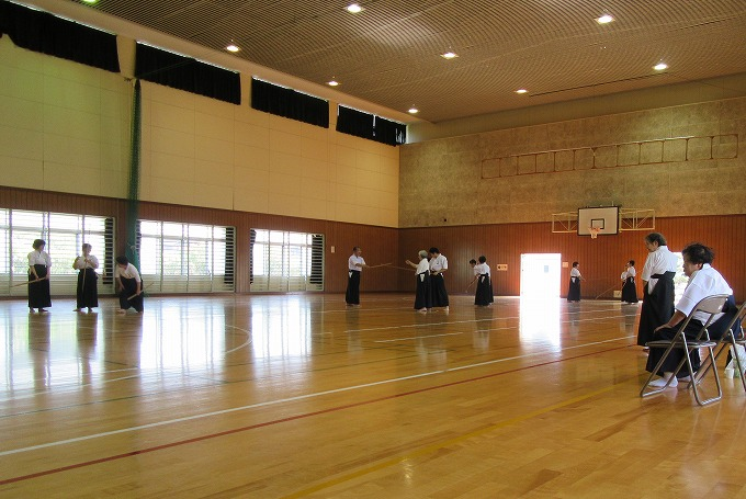 近県薙刀錬成会 28.6.18