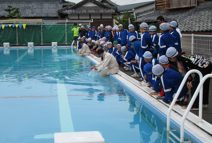 着衣水泳 バディ 1~28 28.7.11