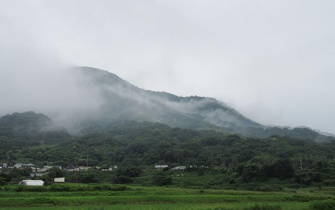 雲が登っていく 火上山 28.7.14