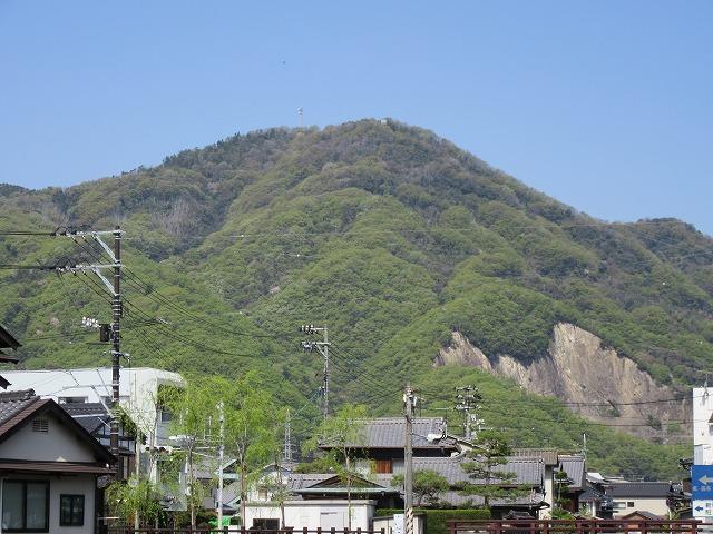 竹原地区 朝日山 頼山陽 28.4.15