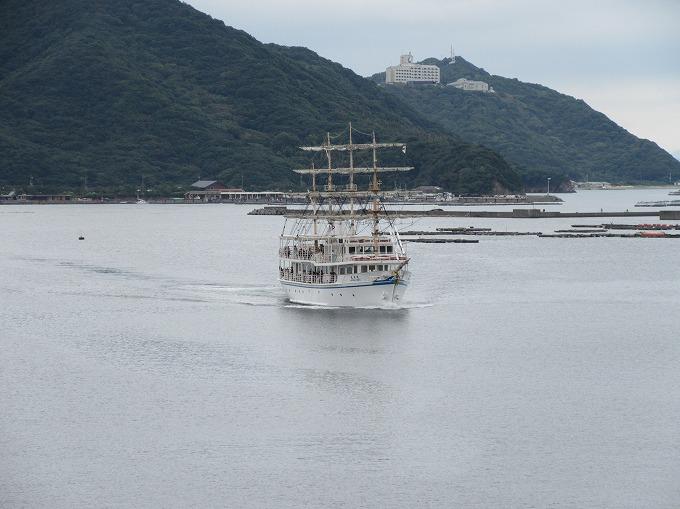 日本丸 福良港 28.9.23