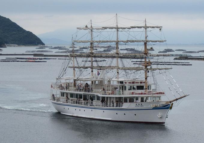 日本丸2 竜海と福良港 28.9.23
