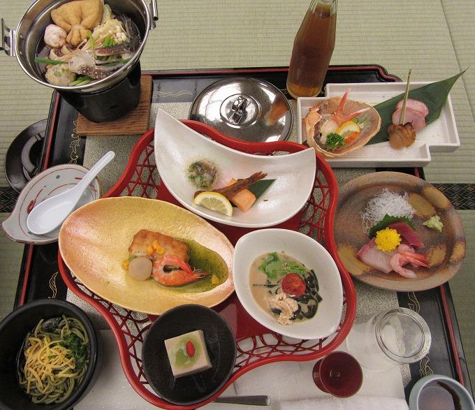 三河湾 明山荘の夕食