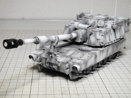 M109パラディン自走砲 前部