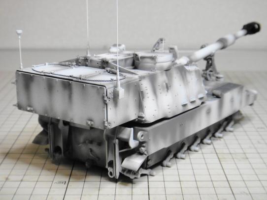 M109パラディン自走砲 後部