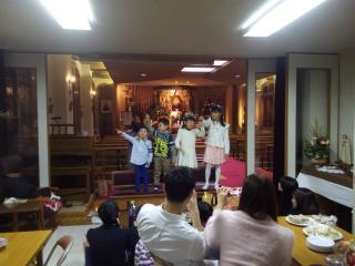 子ども歌声