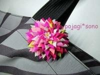 ペゲンモブローチ PINK ピンク