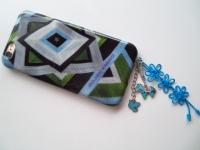 携帯ストラップ 青 ブルー